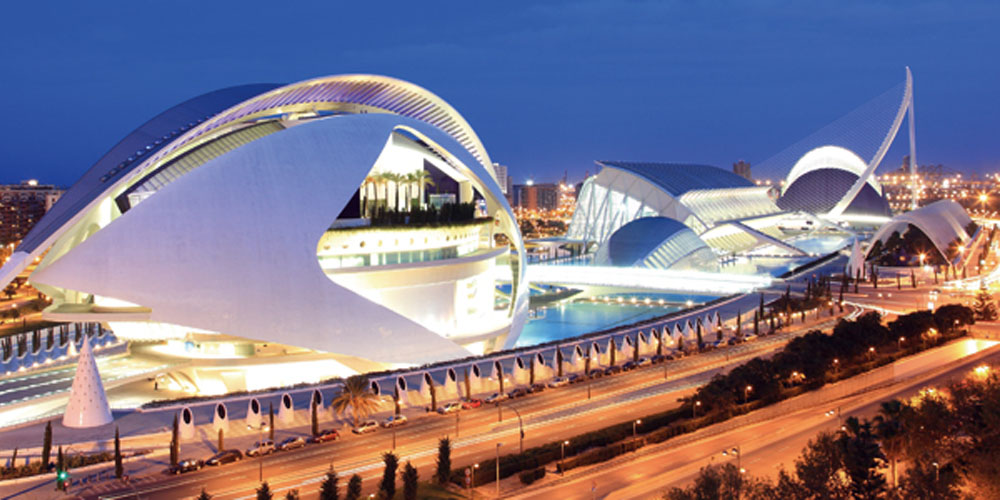 Valencia: The Oceanografic and The City of Arts and Science